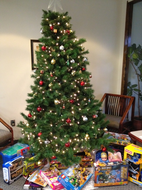 The 2012 Toy Drive begins