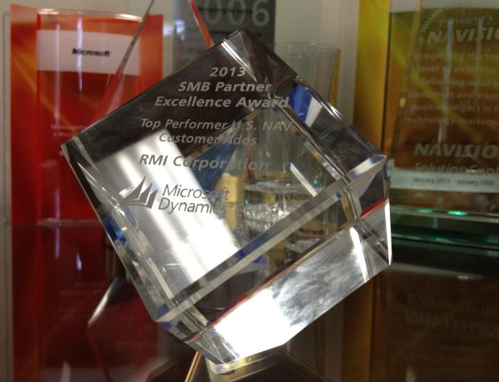 Microsoft Awards RMI a Top Performer Award