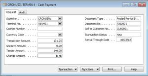 Accepting Walk In Cash Payments in ADVANTAGE