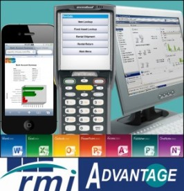 RMI ADVANTAGE on display at The Rental Show 2014 in Orlando, Florida